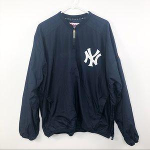 New York Yankees Windbreaker Navy Blue